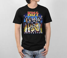 KISS Destroyer Album Gene Simmons Rock Band Retro Vintage Men Black T-Shirt S-XL