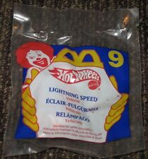 1994 Hot Wheels McDonalds Happy Meal Toy Car - Lightning Speed #9
