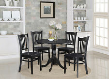 Dublin 3 Pieces small kitchen table set-round kitchen table and 2 dinette chairs