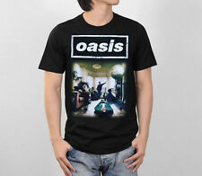 OASIS DEFINITELY MAYBE ALBUM LIAM NOEL GALLAGHER BRIT POP ROCK MEN T-SHIRT S-XL