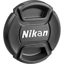 52 58 67 77mm Center-Pinch Snap-On Front Lens Cap For Nikon D800 D7100 Filters