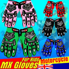 YOUTH/PEEWEE MX MOTOCROSS MOTORBIKE RACING GLOVES ATV/QUAD/DIRT/PIT BIKES Monste