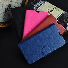 PU Leather Card Slot Stand Flip Phone Case Cover For LG Google Nexus4 E960