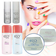 CCO UV/LED NAIL GEL CLEANSER & REMOVER & Soak Off Wipes for Any Nails
