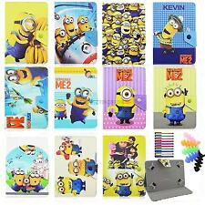 for 7inch 7.9inch universal tablet case covers cartoon Despicable Me for kids