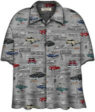 CLASSIC MERCURY CARS HAWAIIAN CAMP SHIRT - David Carey - BRAND NEW!