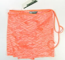 """ROBERTO CAVALLI """"Python Snake"""" sarong pareo cover-up (rose) new with defects"""