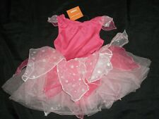 NWT Girl Gymboree Pink Butterfly FAIRY Costume Wings 18 24 Polka Dot Halloween