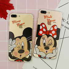 New Ultra Thin Cute Couple TPU Crystal Clear Case Cover for iPhone 5S/6G/6Plus