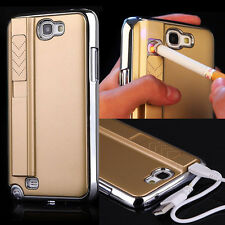 Cool Cigarette Lighter Smoking Back Case Cover For Samsung Galaxy Note II N7100