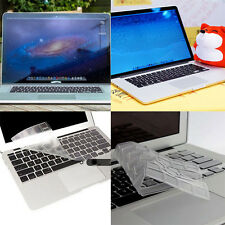 "Silicone Laptop Keyboard Cover Skin for Macbook Pro/Retina13""15""17""Air 11""12"""