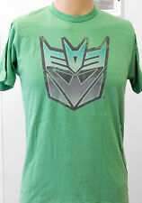 NEW! Gray Green Light Blue Transformers Optimus Prime Autobots T Shirt S Small