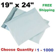19x24 Poly Mailers Plastic Shipping Envelopes Self Sealing Mailing Bags 1-1000 +