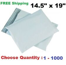 14.5x19 Poly Mailers Plastic Shipping Envelopes Self Sealing Mailing Bags 1-1000