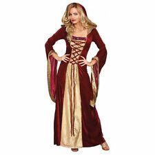 Renaissance Woman Medieval Maiden Women's Adult Hooded Gown Costume