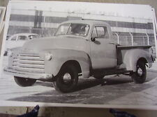 1951  CHEVROLET  PICKUP 1/2 TON  LARGE PICTURE  PHOTO