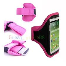 Pink Run Sport Armband Arm Band GYM Skin Case Cover for Phones 2015 hot model