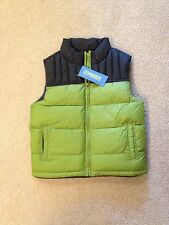 NWT NEW GYMBOREE boy winter puffer vest size XS ( 3-4 ) S (5-6 )