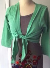 NEW Boden BODEN favourite tie front Cardigan a favourite size 8 12 Mint Icecream