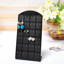 24 pairs Earrings Display Shelf Convenient Jewelry Holder ShowCase Tool Rack one