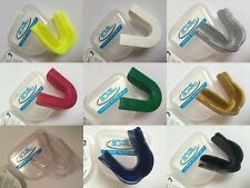 Game Guard Child Teeth Mouth Gum Shield With Case Sport Rugby Boxing Warrior MMA