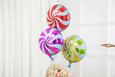 18 Inch Foil Balloons Rainbow Windmill Design Wedding Birthday Party Decoration