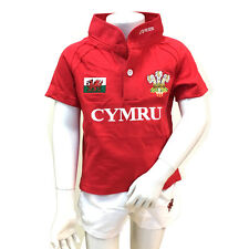 Childrens Cotton 2pc Wales Rugby Kit