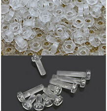 20PCS-100PCS M3 M4 M5 M6 PC Screws Nylon Screws Plastic Screw nut nuts wholesale