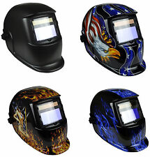 GX800S Solar Auto Darkening Welding Grinding Helmet Mask Adjustable Shade  9-13