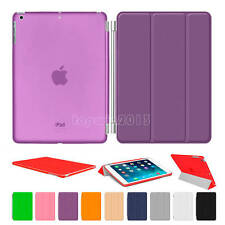 Magnetic Ultra Slim Smart Stand Back Cover Case For Apple iPad Air 2 3 4 Mini 2