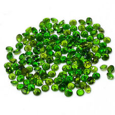 Natural Chrome Diopside Round Cut Calibrated Size 1mm - 5mm Top Quality Gemstone