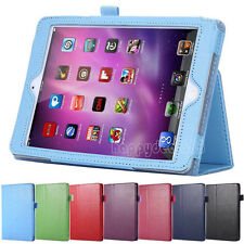 Magnetic Slim Flip Leather Smart Stand Cover Case For iPad Air 2 / iPad mini 1 2