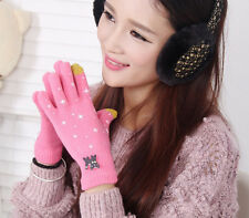 Fashion  Winter Men Women Touch Screen Glove Texting Capacitive Smartphone Knit