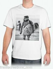 Star Wars Storm Trooper Surfing T Shirt. Funny Shirt.