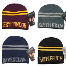 Unisexe Harry Potter Hufflepuff Gryffindor Wool Cosplay Hat Cap Knit Fashion