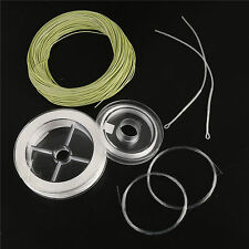 #1wt - #9wt Fly Fishing Line Kit + Backing+Tapered Leader+Tippet+Loop Connector