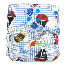 Cloth diaper Pocket  with 1 pc Insert- Little Pirate Pattern
