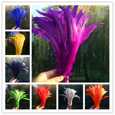 Wholesal!10/50/100 pcs beautiful rooster tail feathers 12-14 inches 30-35cm