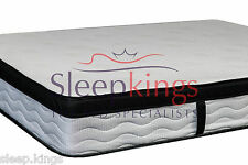POCKET SPRUNG LATEX 2000 LATEX FOAM MATTRESS NEW COMFORT