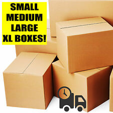 Single / Double Wall Cardboard Boxes - Postal Packing Removals Mailing Cartons