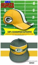 GREEN BAY PACKERS VINTAGE RETRO MITCHELL & NESS FLEX FITTED HELMET HAT SNAPBACK