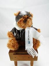 PPG AEROSPACE Plush Promotional Pilot Aviator Bomber Jacket Teddy BEAR Mascot