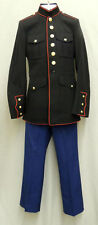 USMC MARINE CORPS DRESS BLUES JACKET BLOUSE UNIFORM with FREE TROUSERS