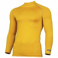 Rhino Base Layer Long Sleeve Turtleneck Work Sports Compression Shirt Top UK