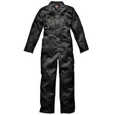 Dickies Mens Redhawk Zipped Coverall Polyester Workwear Suit UK
