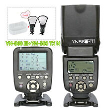 Yongnuo YN560 III Flash Speedlite + YN560TX LCD Wireless Flash Controller Nikon