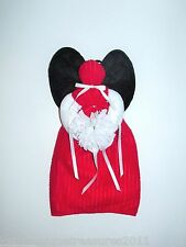 Black, Red and White Towel Angel With a White Flower and Bows Can Hang or Sit