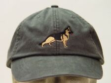 GERMAN SHEPHERD WOMEN MEN SOLID COLOR DOG BASEBALL CAP - Price Embroidery Hat