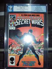 SECRET WARS # 8 PGX 9.4 Black Symbiote suit