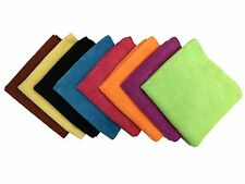"48 Microfiber 16""x16"" Cleaning Cloths Detailing Polishing Towels Rags 300GSM"